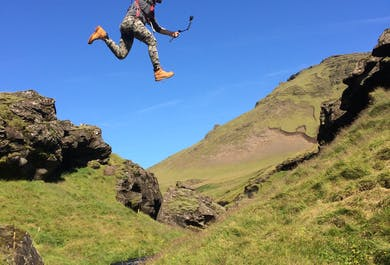 Zipline and Hiking Tour | Departure from Vik