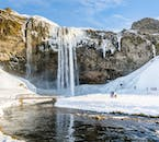 The stunning Seljalandsfoss is one of Iceland's more unique falls.