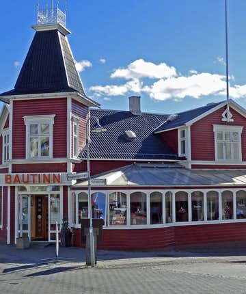 Bautinn Restaurant can be found right in the heart of Akureyri. It is the oldest working restaurant in the city, having opened for business in 1971.