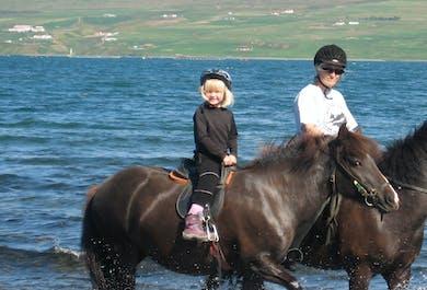 Children's Horse Riding Lesson