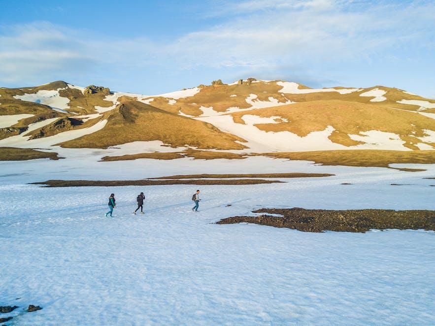 Hiking in Askja