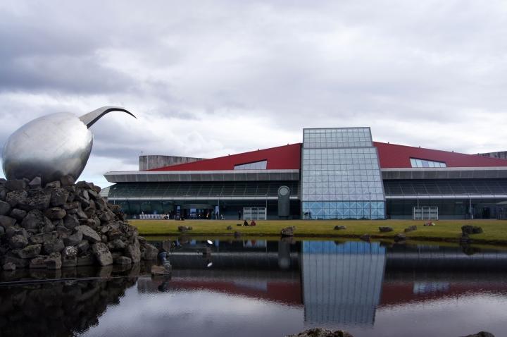The international airport at Keflavík.