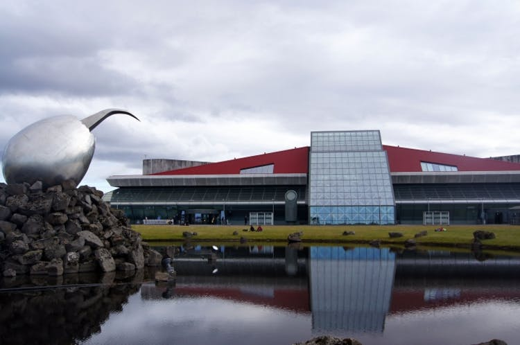 The international airport at Keflavík.