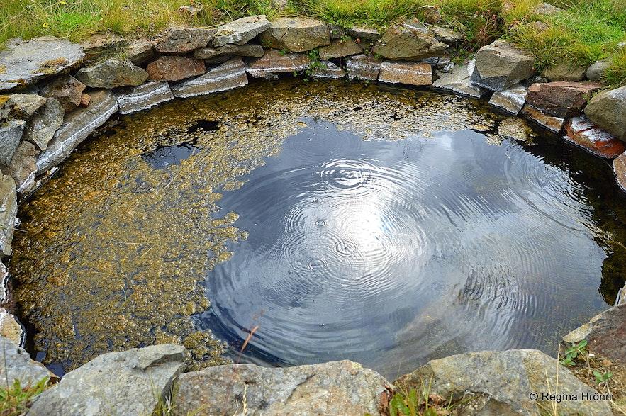 Gvendarlaug hin forna - the protected hot pool