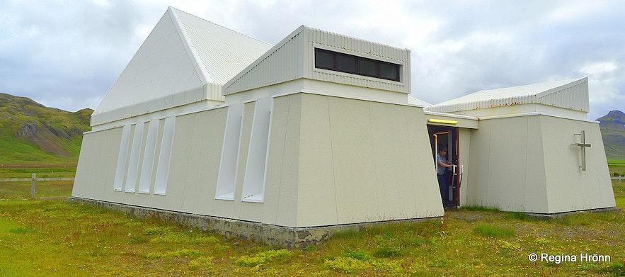 Trékyllisvík at Strandir - Árneskirkja nýja church