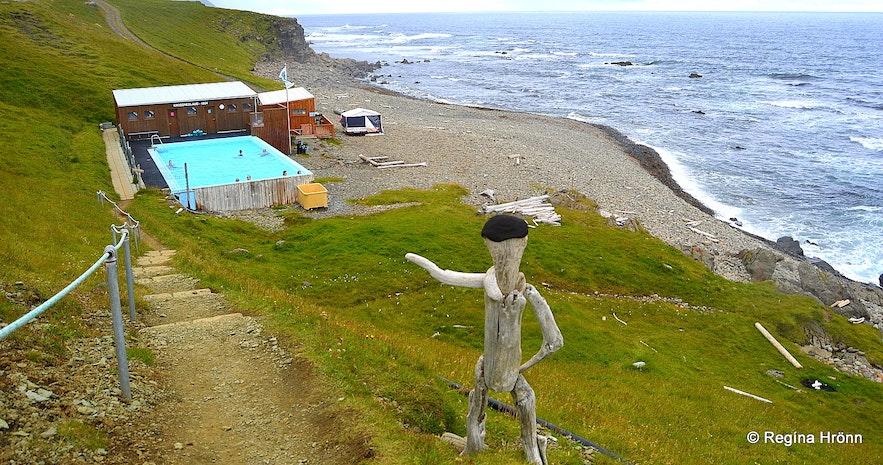 Krossneslaug at Strandir