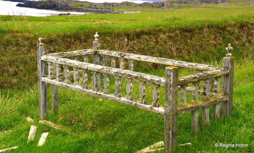 A grave at Strandir Westfjords