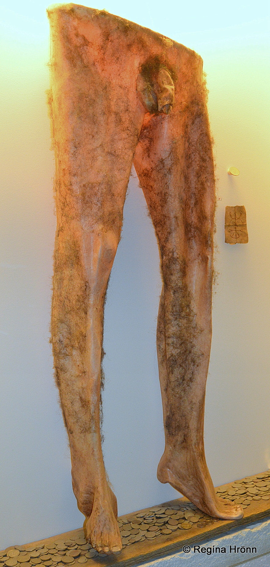 The necropants at theMuseum of Icelandic Witchcraft and Sorcery