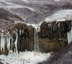 The frozen, winter landscapes of Iceland.