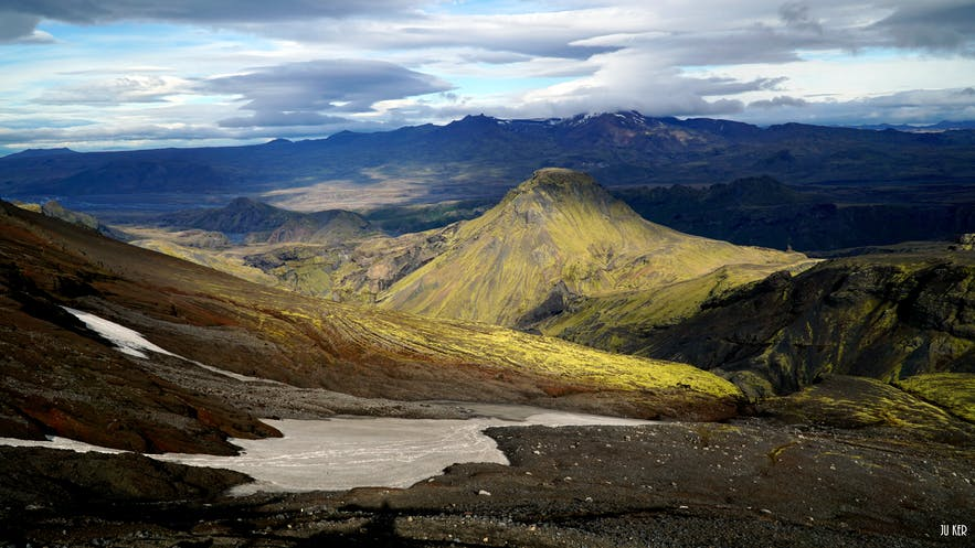 Eyjafjöll en Islande