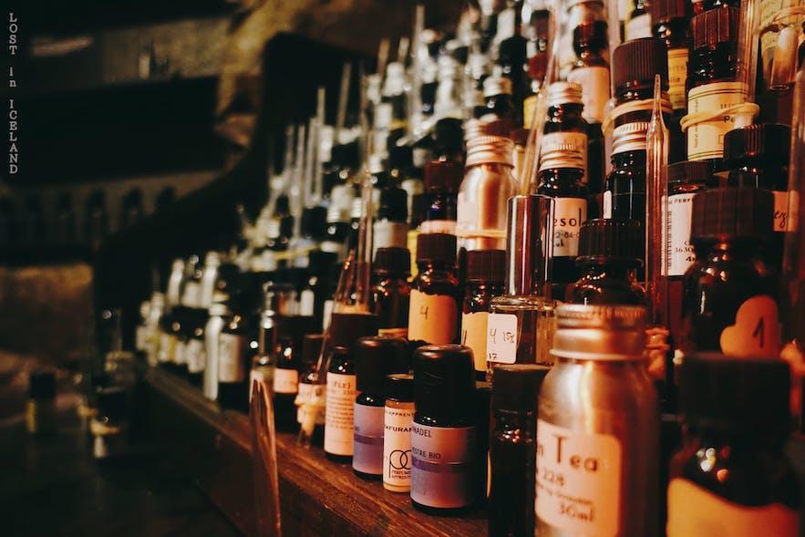 冰岛首都雷克雅未克Sigur Rós创始人Jónsi的生活方式概念店Fischer-香水原料