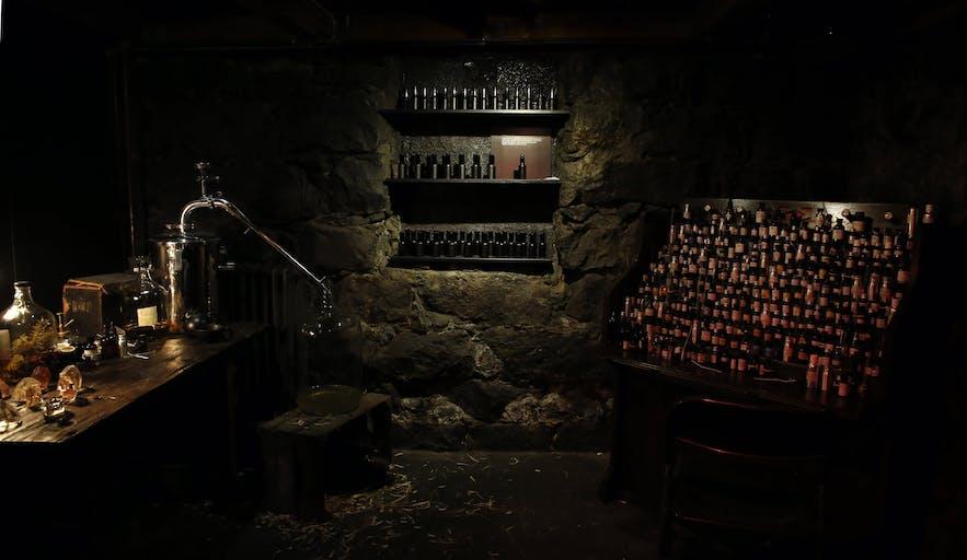 冰岛首都雷克雅未克Sigur Rós创始人Jónsi的生活方式概念店Fischer-地下一层香水工作室