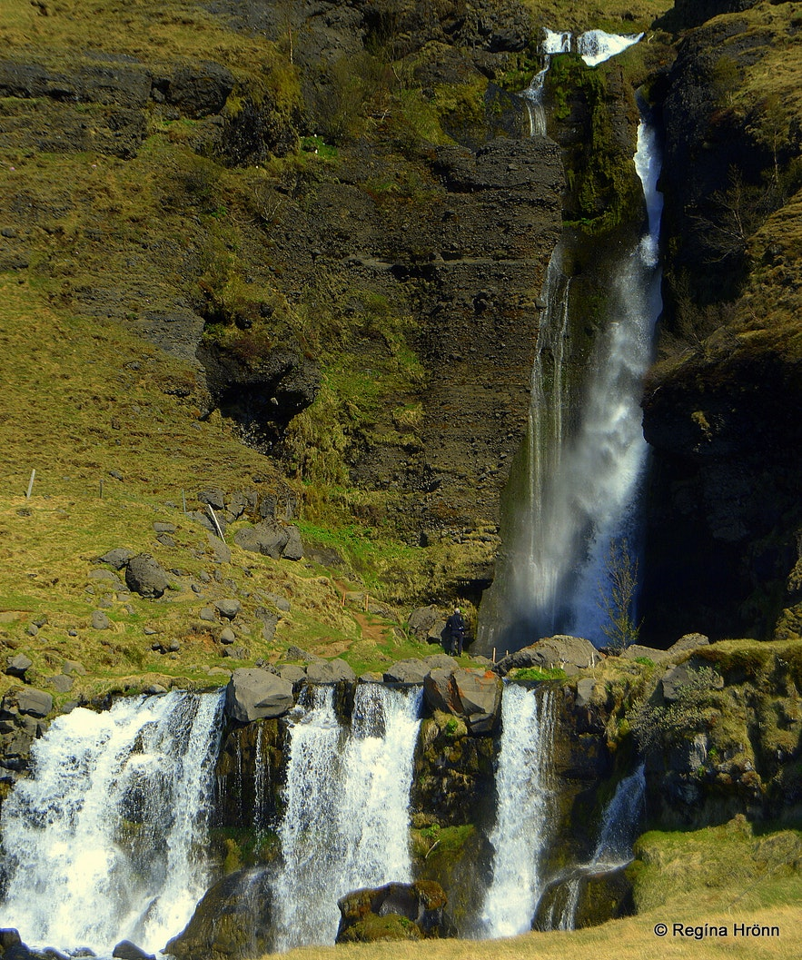 Gluggafoss - Windows' Falls in South-Iceland