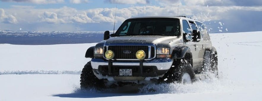 Super Jeeps come in a number of varieties, such as the Super Truck, which seats more passenger.