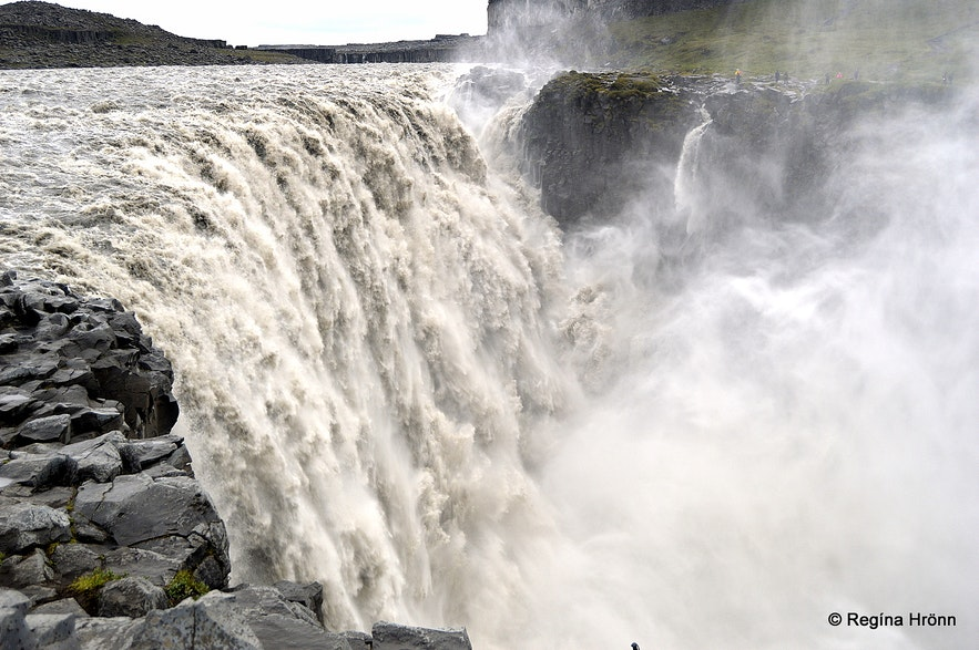 Dettifoss waterfall in Jökulsárgljúfur canyon