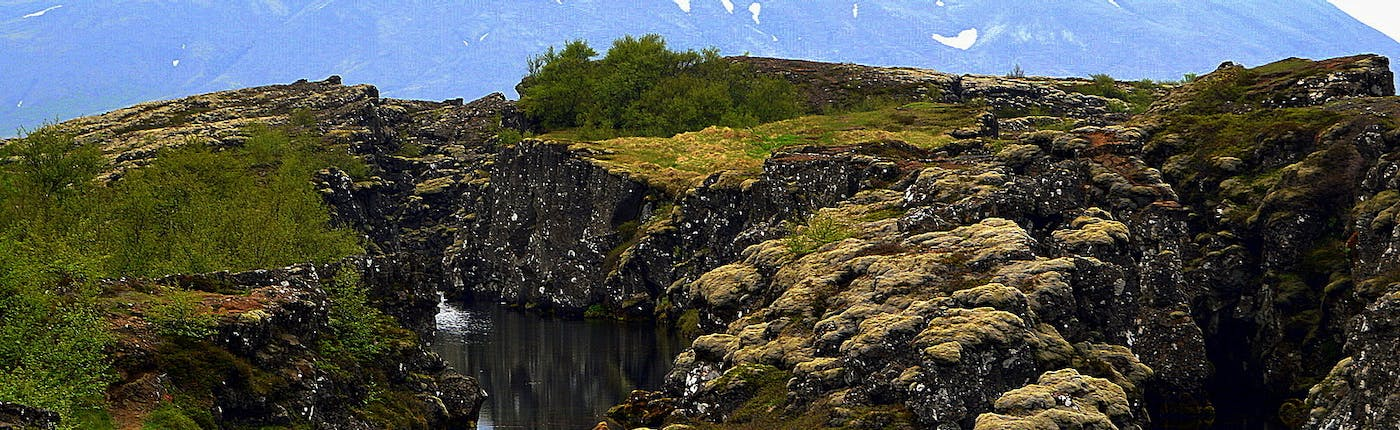 The Golden Circle and Floating in the Secret Lagoon at Flúðir in South-Iceland