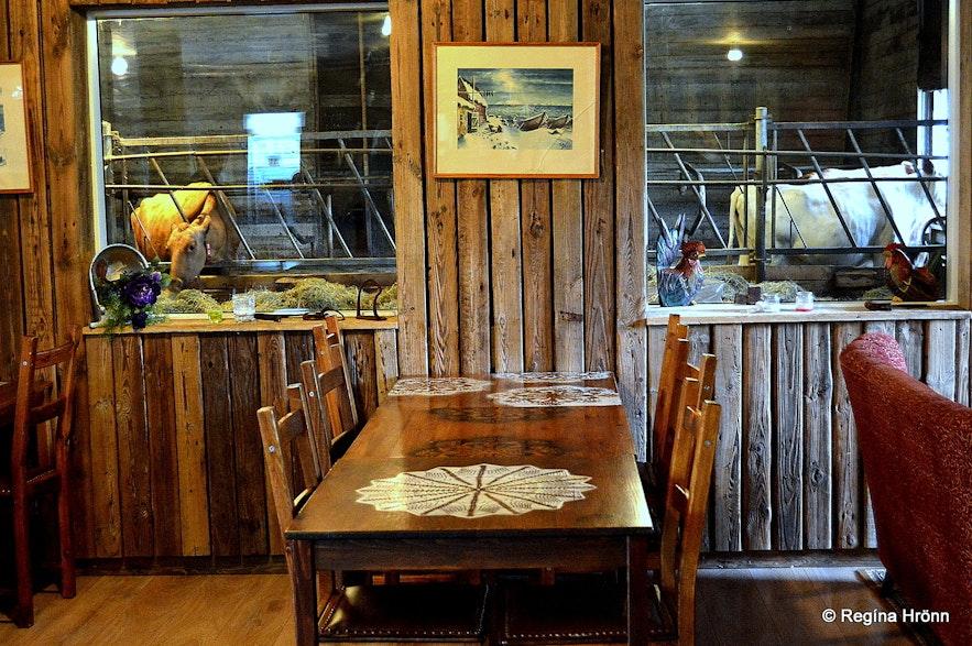 Efstidalur farm restaurant and dairy farm