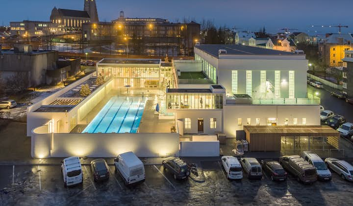 Reykjavík's swimming pools are open late, so you can spend your evening unwinding in the warm, geothermal waters.