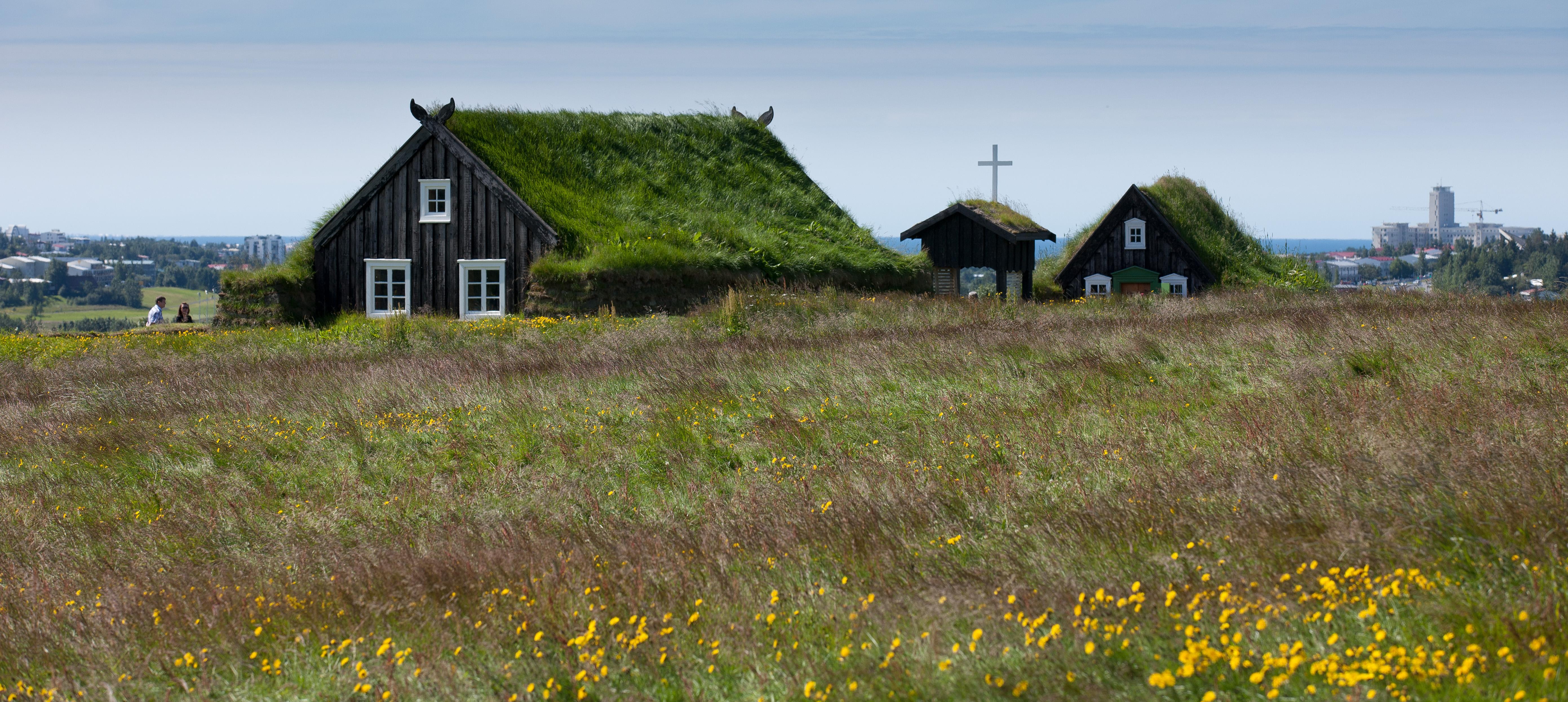 Visitez le musée plein air d'Árbæjarsafn avec le pass 72h