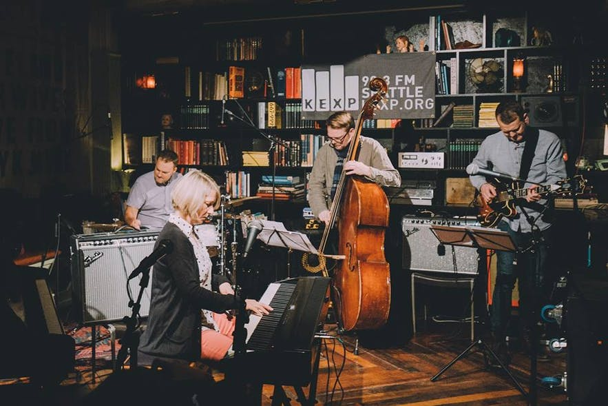 KEX is the PLACE to go for jazz lovers in Iceland.