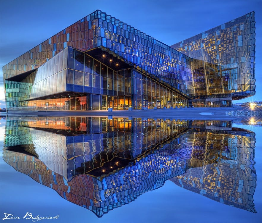 Harpa Concert Hall and Conference Centre was nearly not built after the financial crash of 2008.