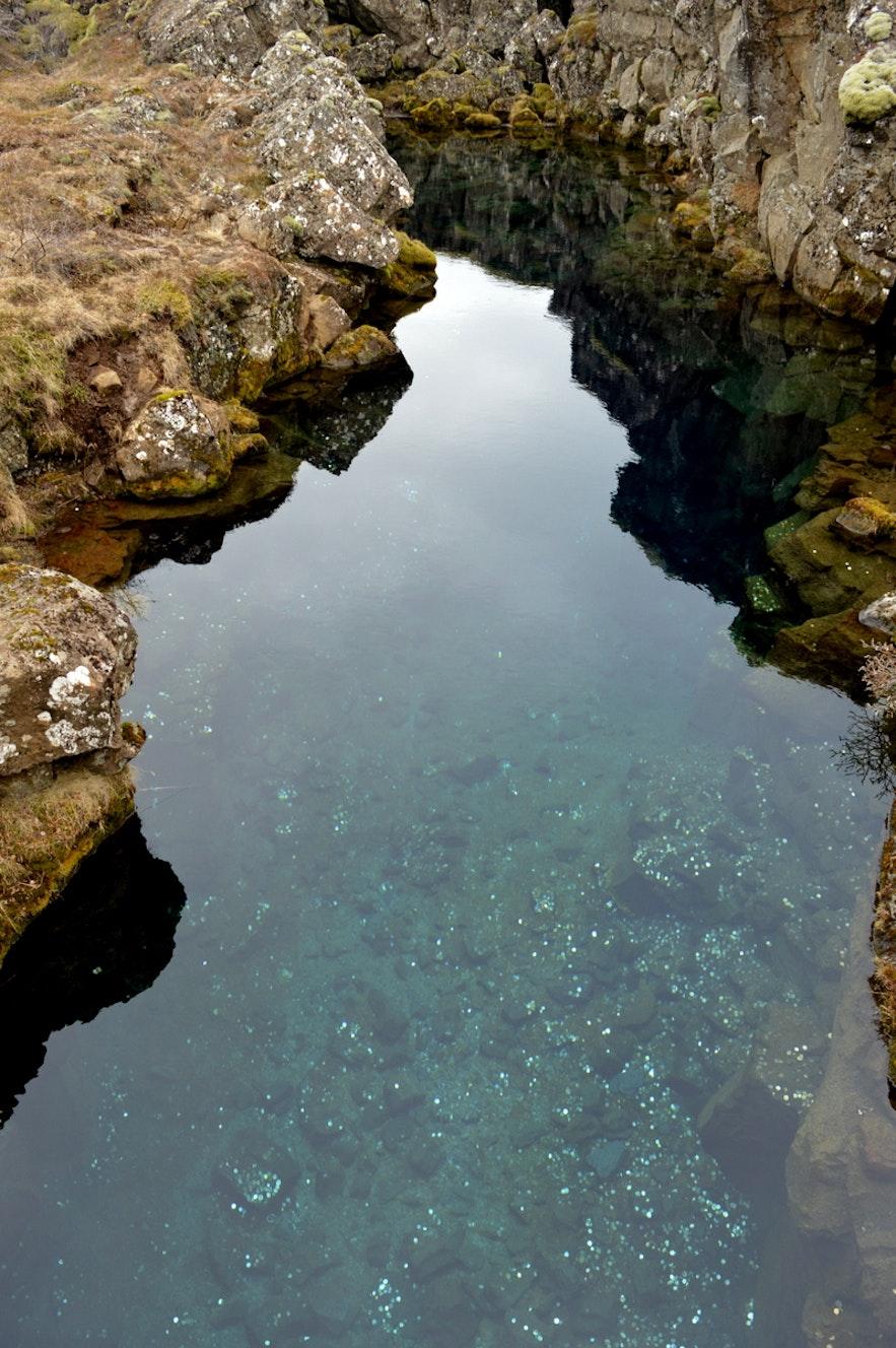 青い水が綺麗なペニンガギャゥ