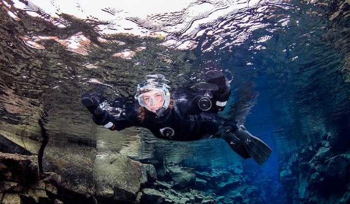 丝浮拉裂缝浮潜一日游 雷克雅未克接送