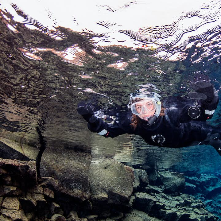 Snorkel in Silfra Fissure is an unbelievable experience.