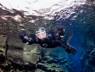 Snorkelling Silfra Fissure with Reykjavik Pickup