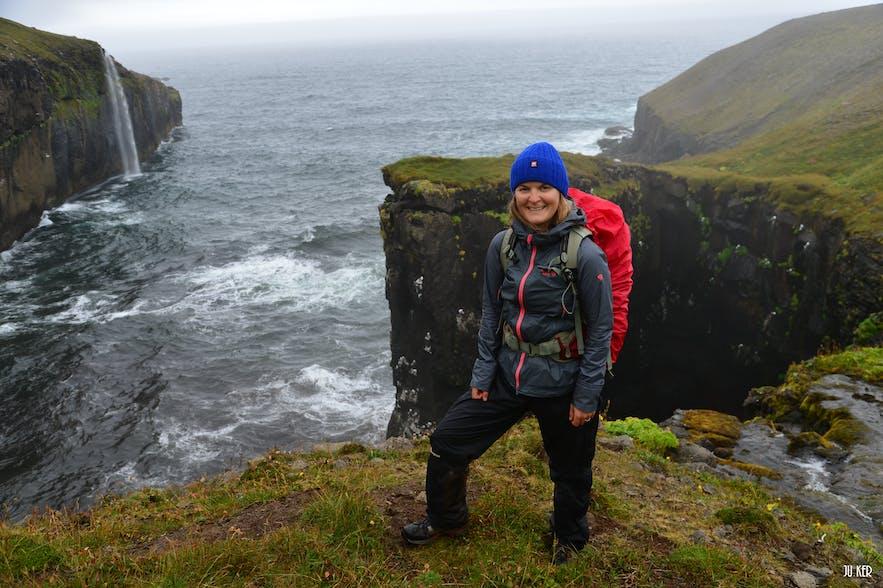 Rando à la réserve Hornstrandir en Islande