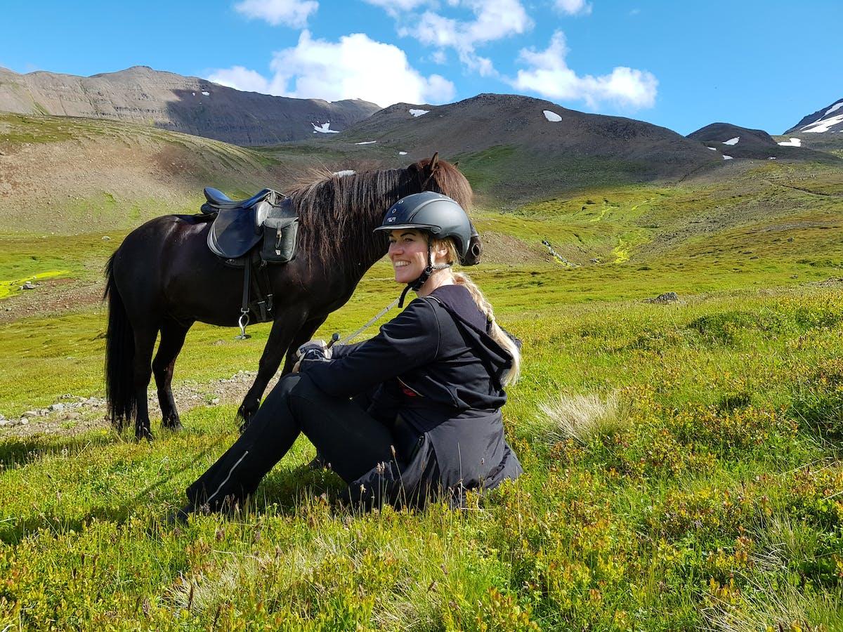 Langhús horse tours hero image