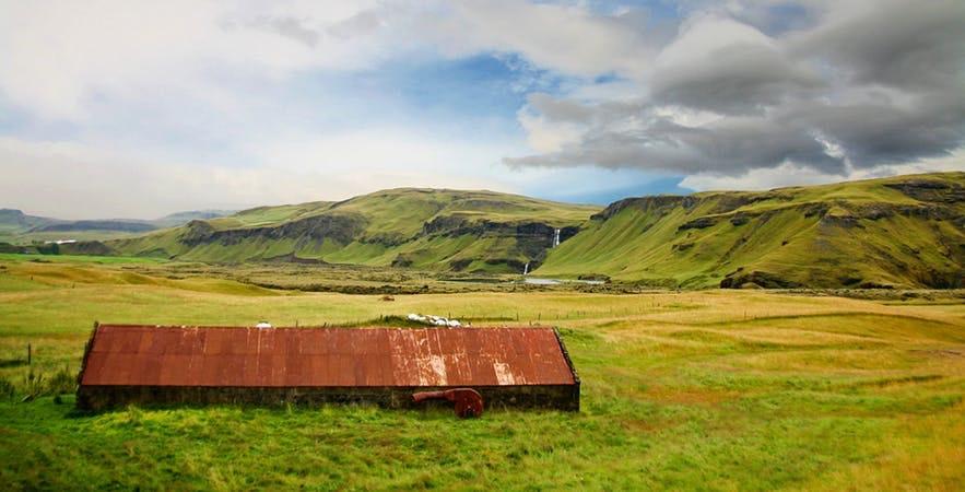 冰島教堂鎮