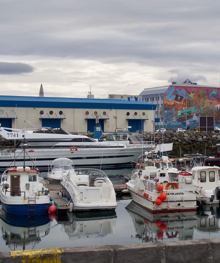 Harbour in Reykjavik