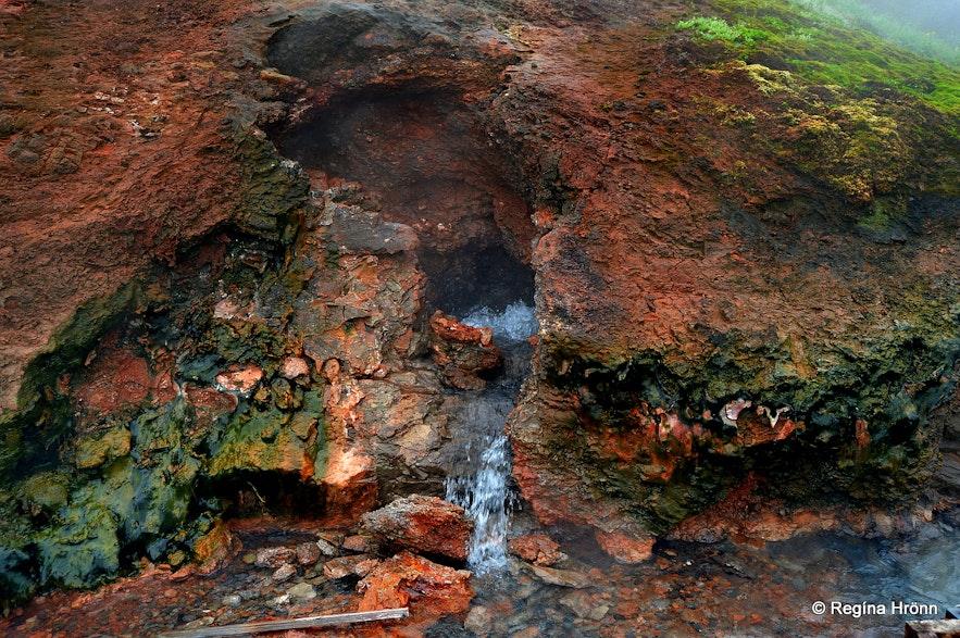 Deildartunguhver hot spring W-Iceland