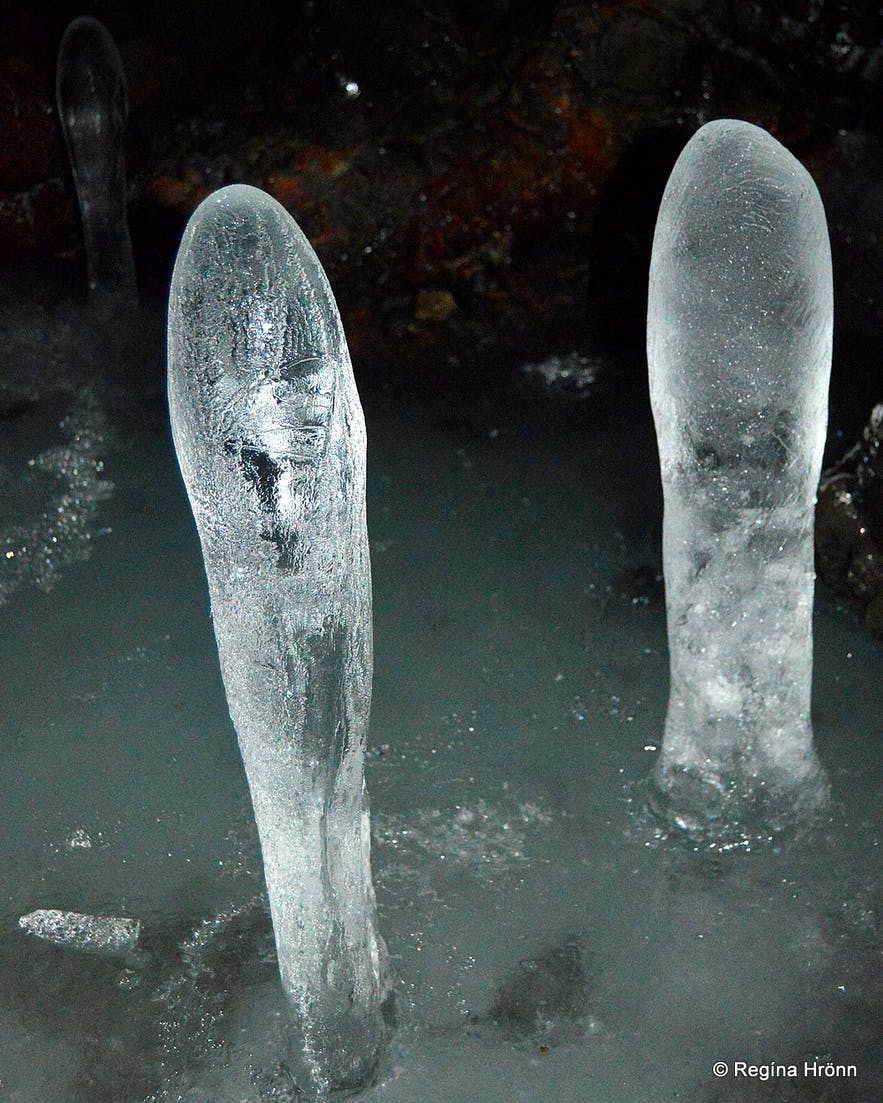 Extraordinary Ice Sculptures in Lofthellir Cave