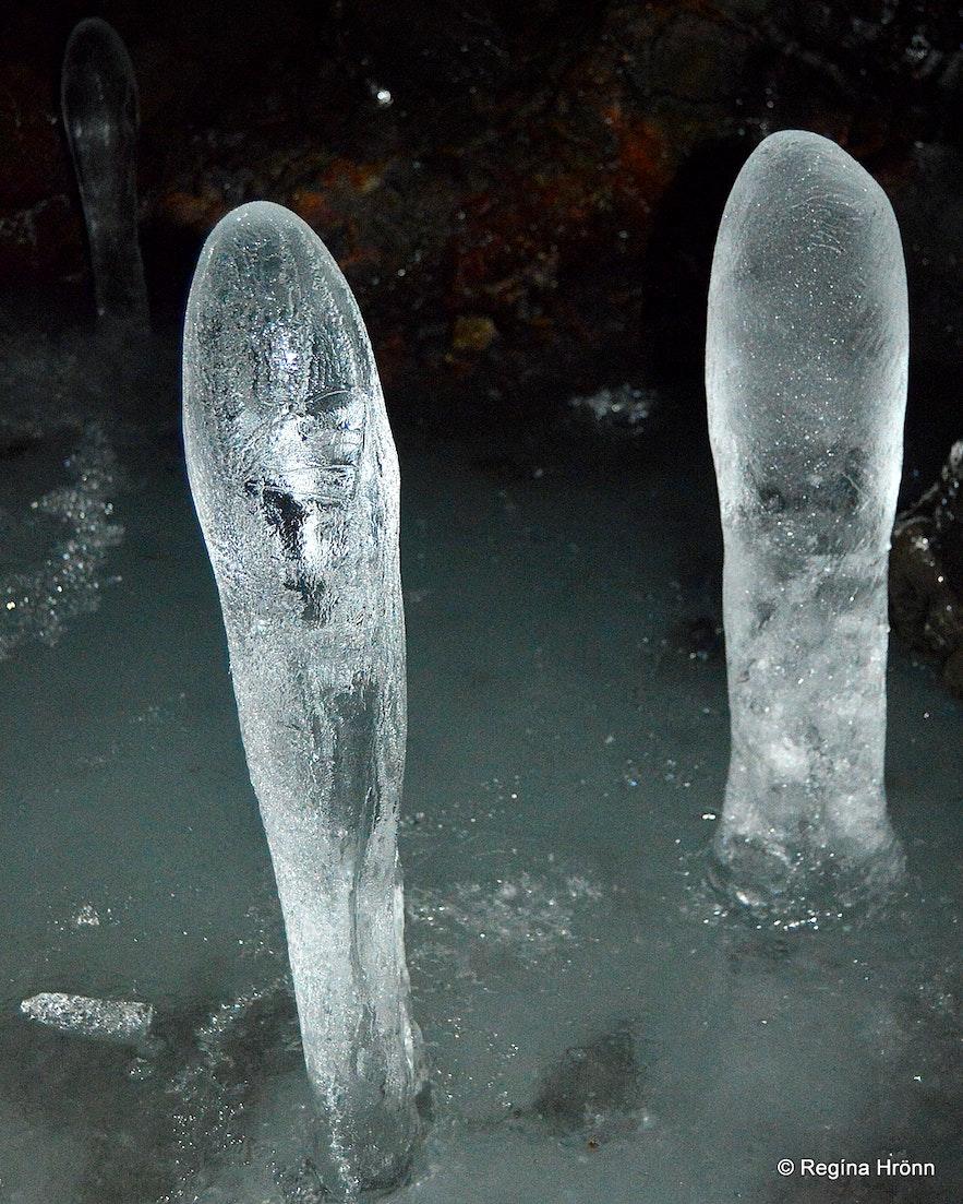 Extraordinary Ice Sculptures in Lofthellir Cave