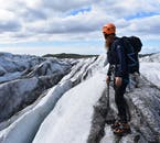 ปีนขึ้นไปบนยอดของธารน้ำแข็งและชมทิวทัศน์ที่น่ามหัศจรรย์ของศูนย์อนุรักษ์สกัฟตาเฟลล์.