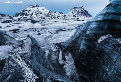 3 w 1, pakiet ze zniżką | Skutery śnieżne, lodowiec i jaskinia lodowa