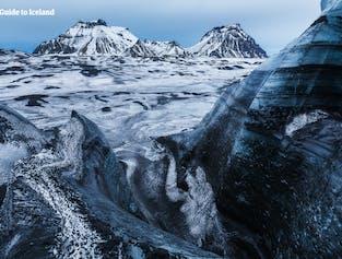 특별 할인 콤보 투어   스노모빌, 빙하 하이킹, 얼음 동굴