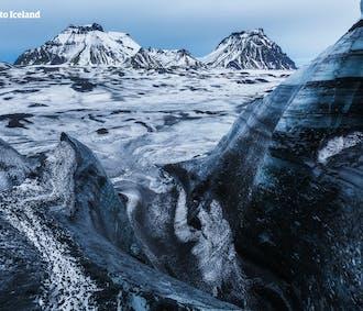 3 Aktivitäten im Paket | Schneemobil, Eishöhle & Gletscherwanderung