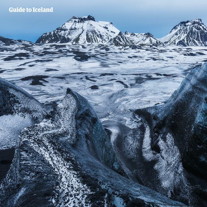 Top 3 activités sur glacier   Motoneige, rando et ice cave