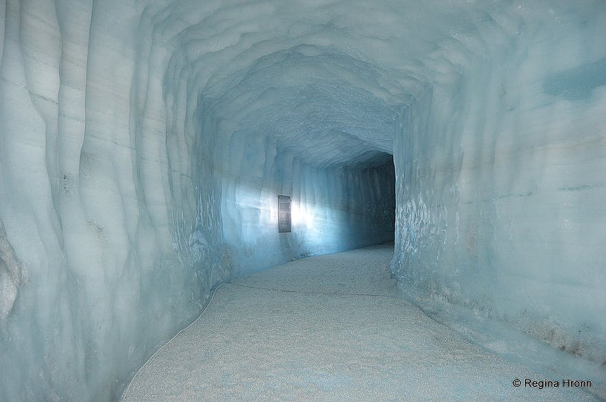 the Ice Cave Tunnel in Langjökull Glacier in Iceland - Into the Glacier