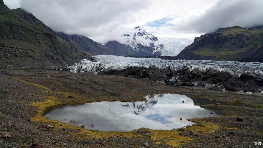 Vue du parc Vatnajokull