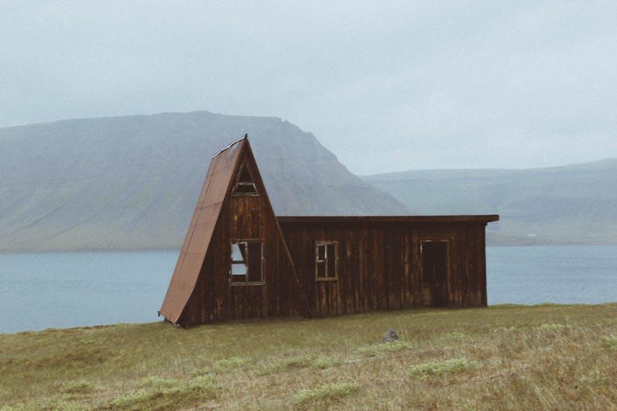 冰島初秋的景色