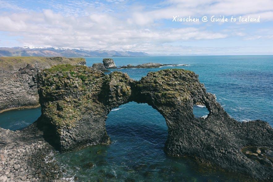 冰島Gatklettur - Arch Rock 斯奈山半島