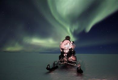 Northern Lights Snowmobile Tour | Departure from Gullfoss