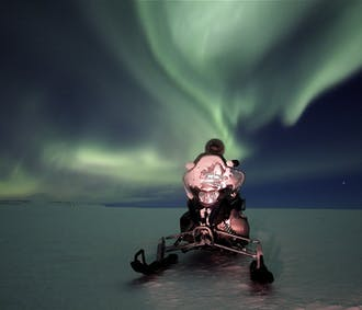 Northern Lights Snowmobile Tour | Departure from Gullfoss