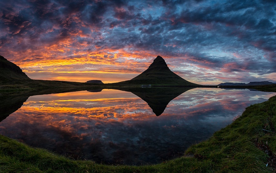 冰島斯奈山半島草帽山