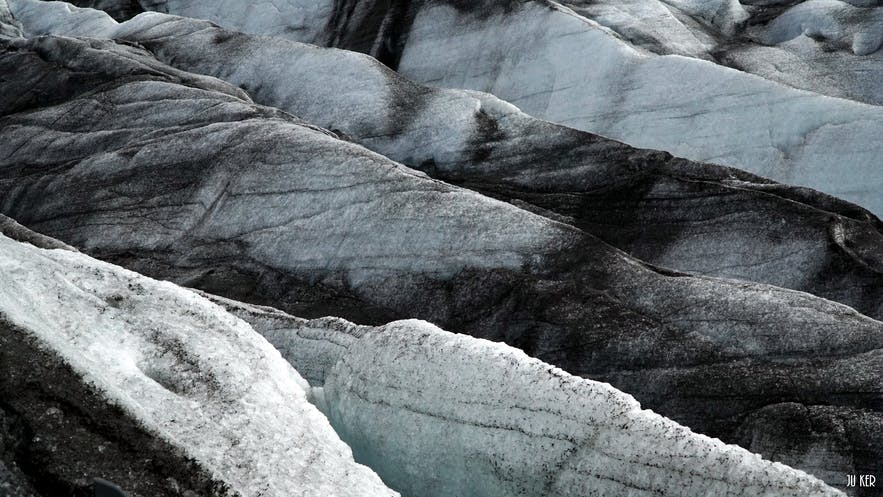 Langue glaciaire en Islande