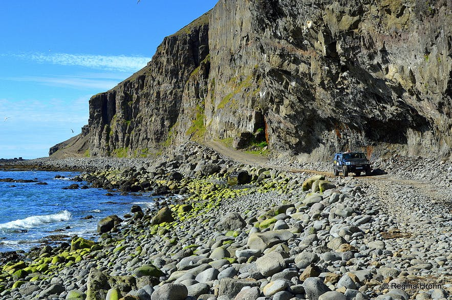A hazardous Tour of Svalvogar & Kjaransbraut in the Westfjords - the most dangerous Road in Iceland